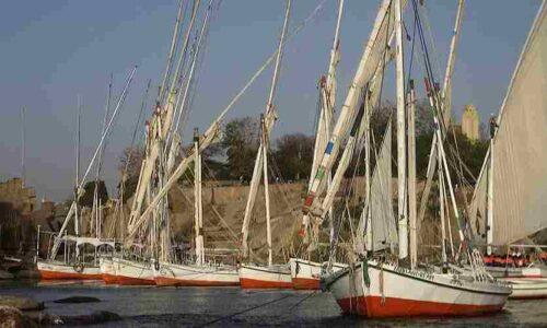 Felucca tour in Aswan