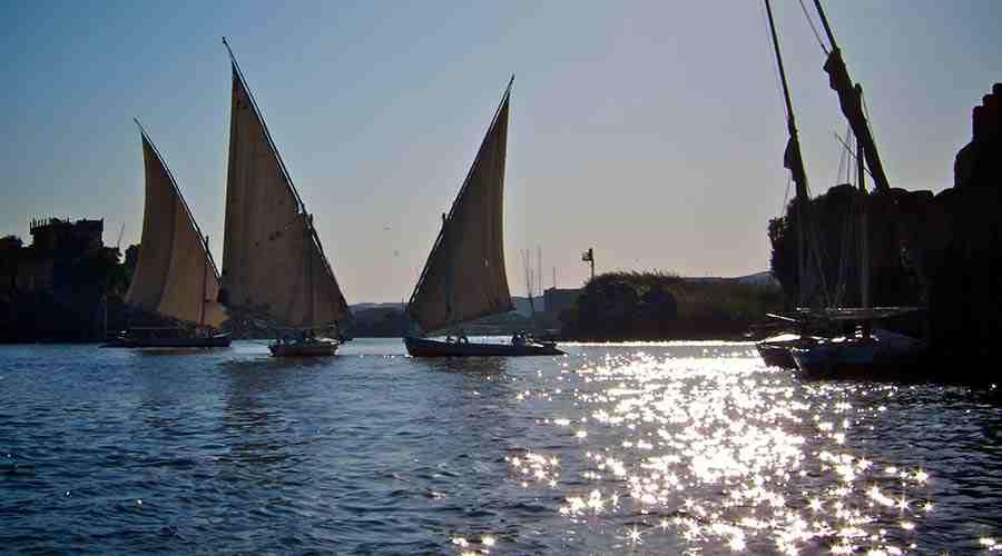 Felucca tour in Aswan Egypt