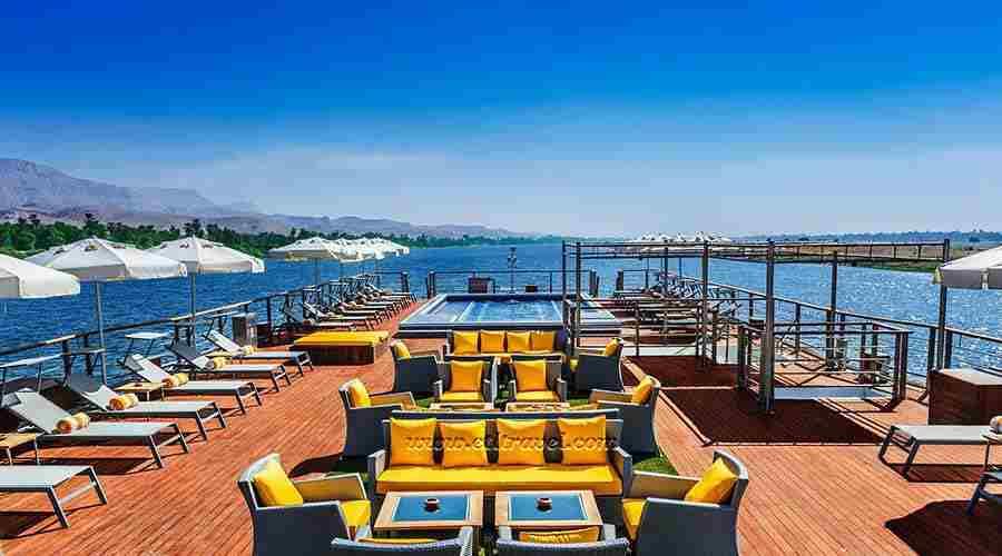 Nile river cruise Egypt