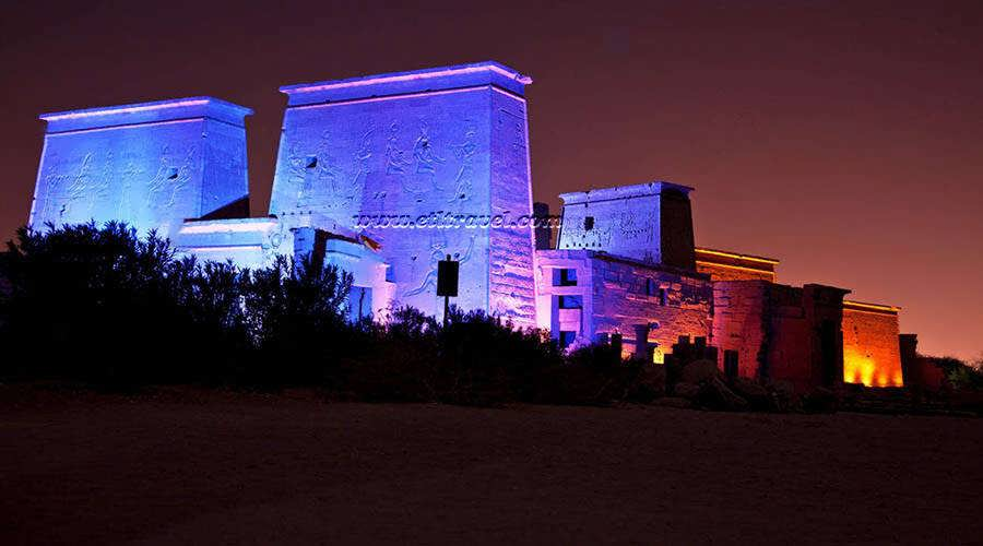 Philae Sound Light Show