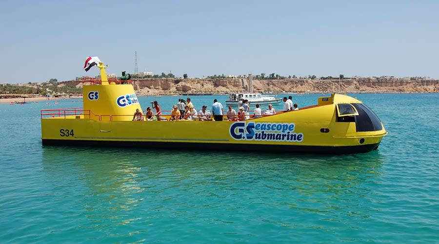 Sharm Semi Submarine tour