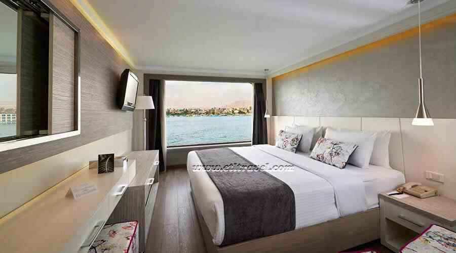 Acamar Nile cruise single cabin Acamar Nile cruise double cabin