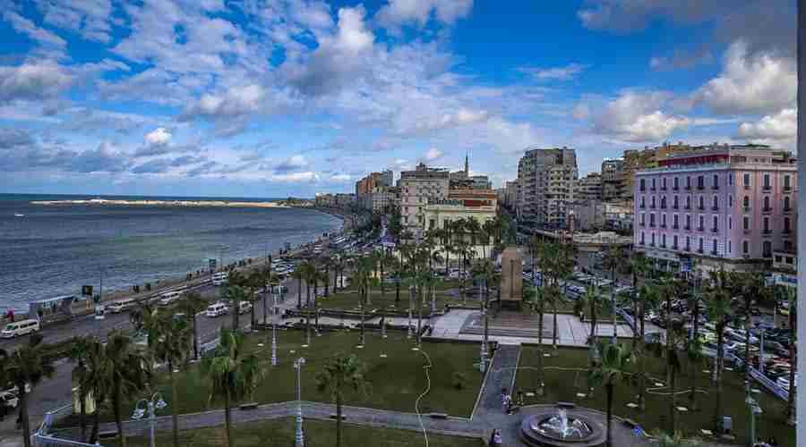 Acropole hotel Alexandria Egypt
