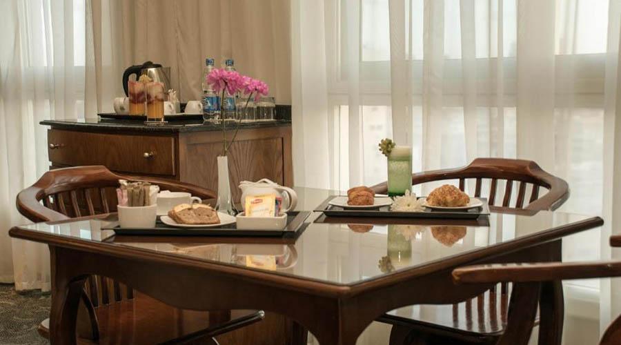 Cherry Maryski hotel executive suite