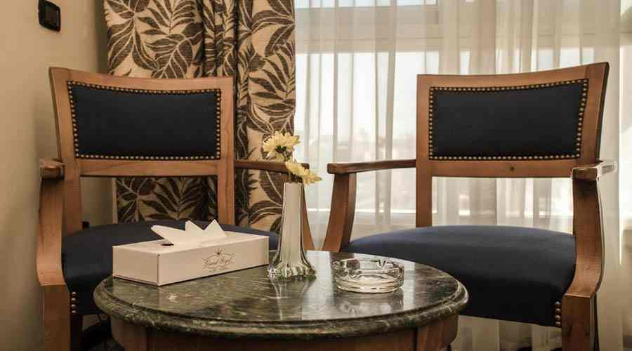 Cherry Maryski hotel executive floor room