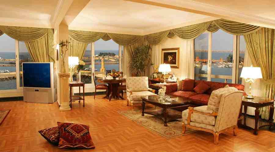 Helnan Palestine hotel Pent House suite