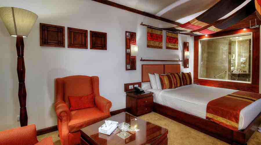 Africana hotel executive single room