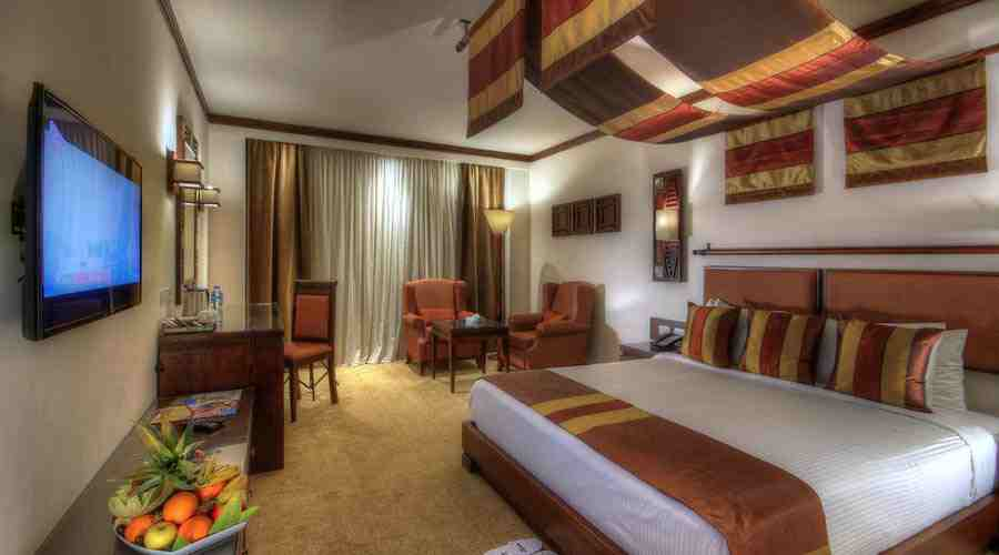 Africana hotel executive double room
