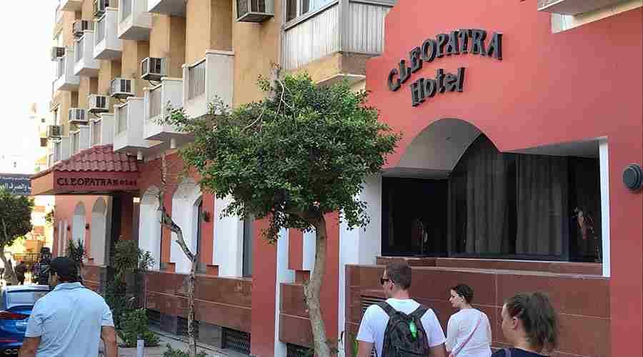 Cleopatra hotel Aswan