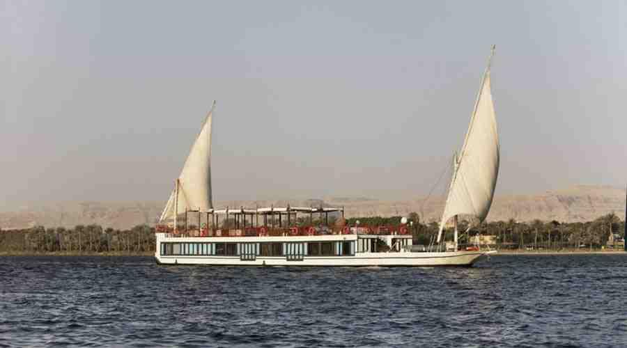 Movenpick Feddya Nile dahabiya Egypt