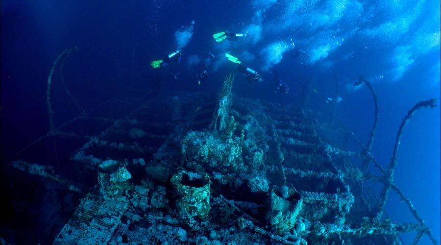 Numidia Wreck Hurghada