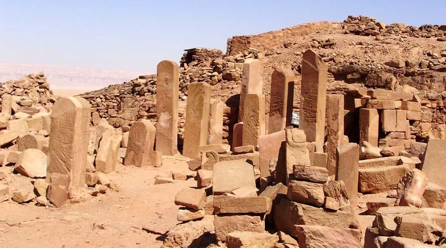 Serabit El Khadem temple