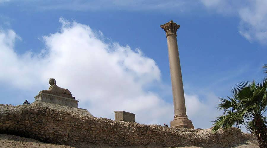 Pompeys Pillar Alexandria