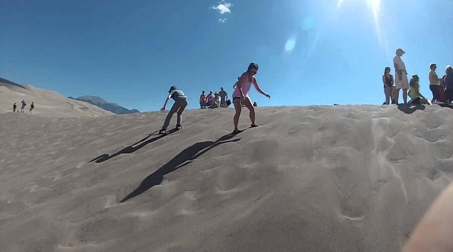 Great Sand Sea Boarding