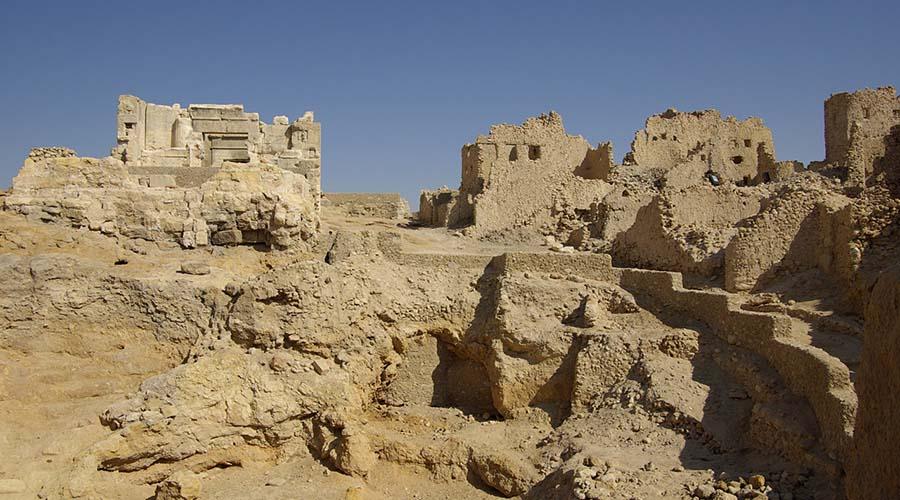 Oracle temple Siwa Oasis