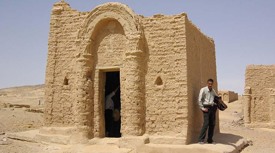 El Bagawat Necropolis Kharga Oasis